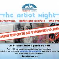 The Artist Night - Samedi 21 mars 19:00-23:00